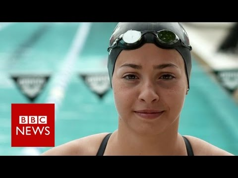 Team Refugee: From swimming the Aegean Sea to the Rio Olympics - BBC News