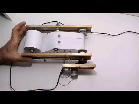 DIY PAPER CUTTING MACHINE HOMEMADE
