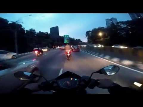 GOPRO MOTOVLOG6: KLCC | JALAN KUCHING | KEPONG | SRI DAMANSARA | SUNGAI BULOH || MALAYSIA