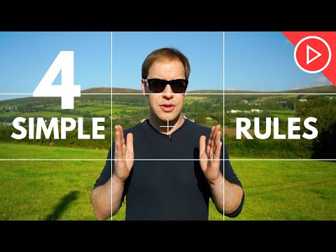4 Framing & Composition Techniques For Beginners | Photography & Video Training