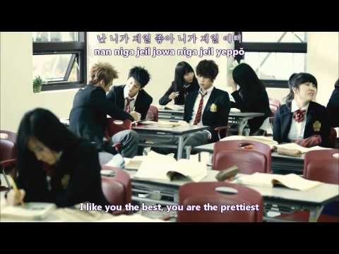 Beast - I like you the best MV [english subs + romanization + hangul]