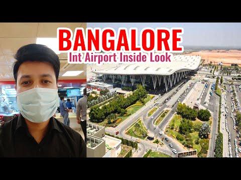 Bangalore Airport Entry to Flight Take off full video | Kempegowda International Airport Bengaluru