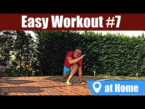 EASY WORKOUT AT HOME #7: WORKOUT WITH SOME CAPOEIRA MOVEMENTS