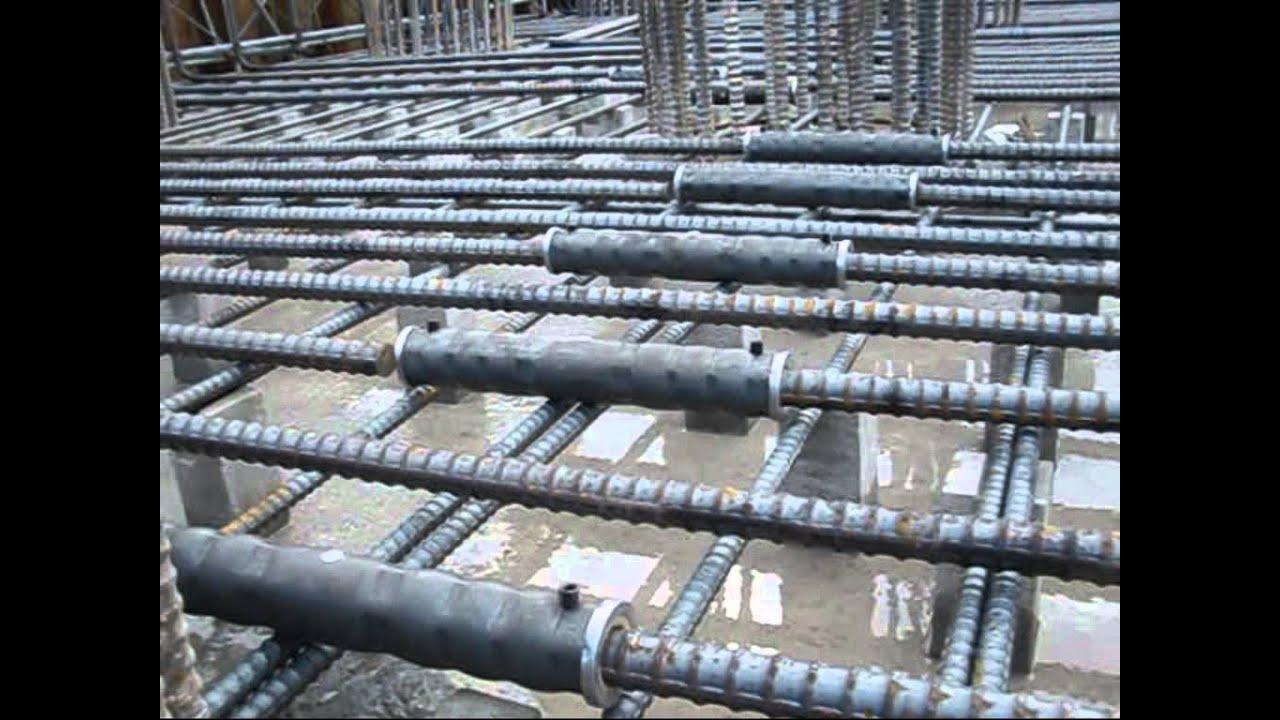Rebar Coupler Mechanical Joint for Civil Engineering Beam, Slab ...