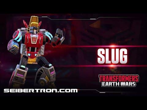 Dinobot SLUG Character Spotlight video and demo Transformers: Earth Wars