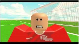 Roblox Soccer Stop-motion (short)
