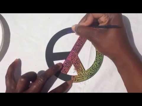 Local Artist Shows Her Maze Design