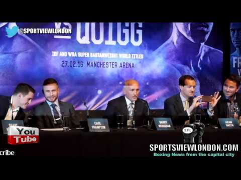 ELECTRIC Frampton-Quigg FULL Belfast Press conference