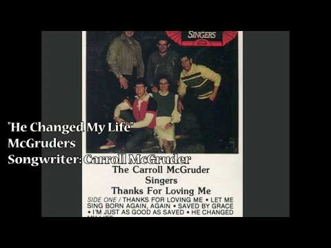 """He Changed My Life"" – McGruders (1986)"