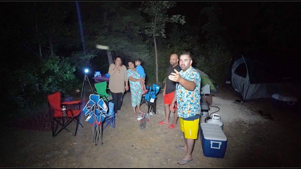 First Time CAMPING In Canada But Ek JANWAR Ghus Gya Camp Mei . . 😱