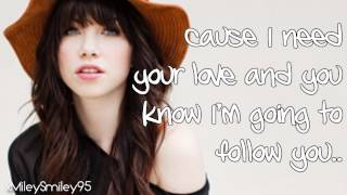 Carly Rae Jepsen - Curiosity (with lyrics)