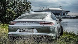 видео Обзор Porsche Panamera (Порше Панамера)