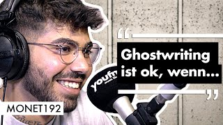 MONET192 Interview: Ghostwriting im Deutschrap, Job in der Psychatrie, Instagram vs. Realität