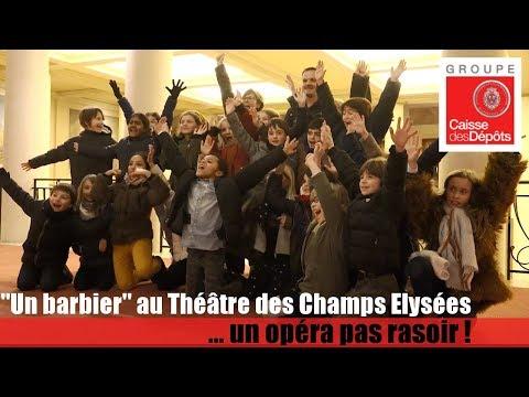 10 000 enfants au Théâtre des Champs Elysées pour un opéra... pas rasoir :)