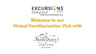 Shakespeare's England - Virtual Familiarisation Visit