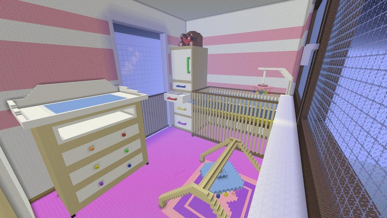 minecraft baby zimmer versteckter kopf gr tes. Black Bedroom Furniture Sets. Home Design Ideas