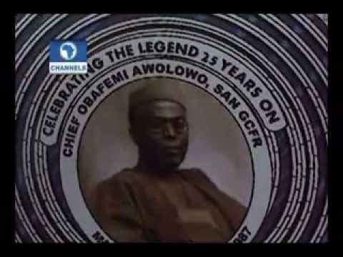 Celebrating 25th anniversary of Chief Obafemi Awolowo