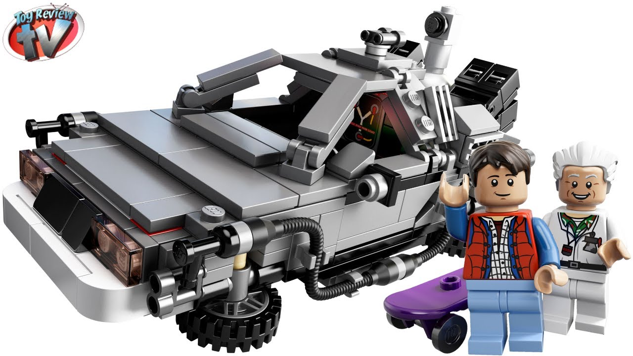 Lego Cuusoo Back To The Future Delorean 21103 Toy Review