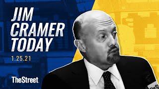 GameStop, Moderna, Tesla: Jim Cramer's Stock Market Breakdown - Jan. 25