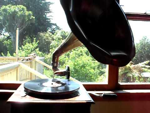My favorite Gramophone Record Playing