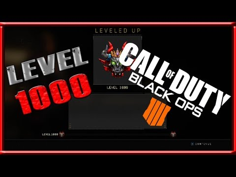 BO4 LEVEL 1000 STATS ACCOLADES AND PRESTIGE ICONS