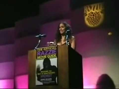 Halle Berry accepts Razzie Award for Worst Actress !.mp4