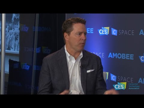 Hulu's Peter Naylor in the C Space Influencer Studio
