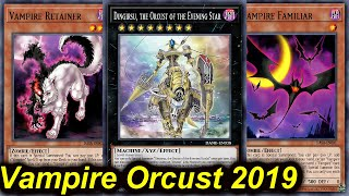 Gambar cover 【YGOPRO】VAMPIRE ORCUST DECK 2019