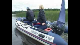 Надувные лодки пвх Yamaran серия Family.wmv