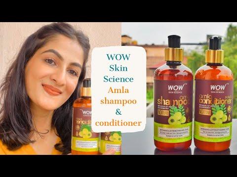 Amla Shampoo & Conditioner   Revives dry, weak hair   WOW Skin Science   with Ishanki Tiwari