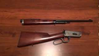 Winchester Model 55 Takedown Rifle Close-Up