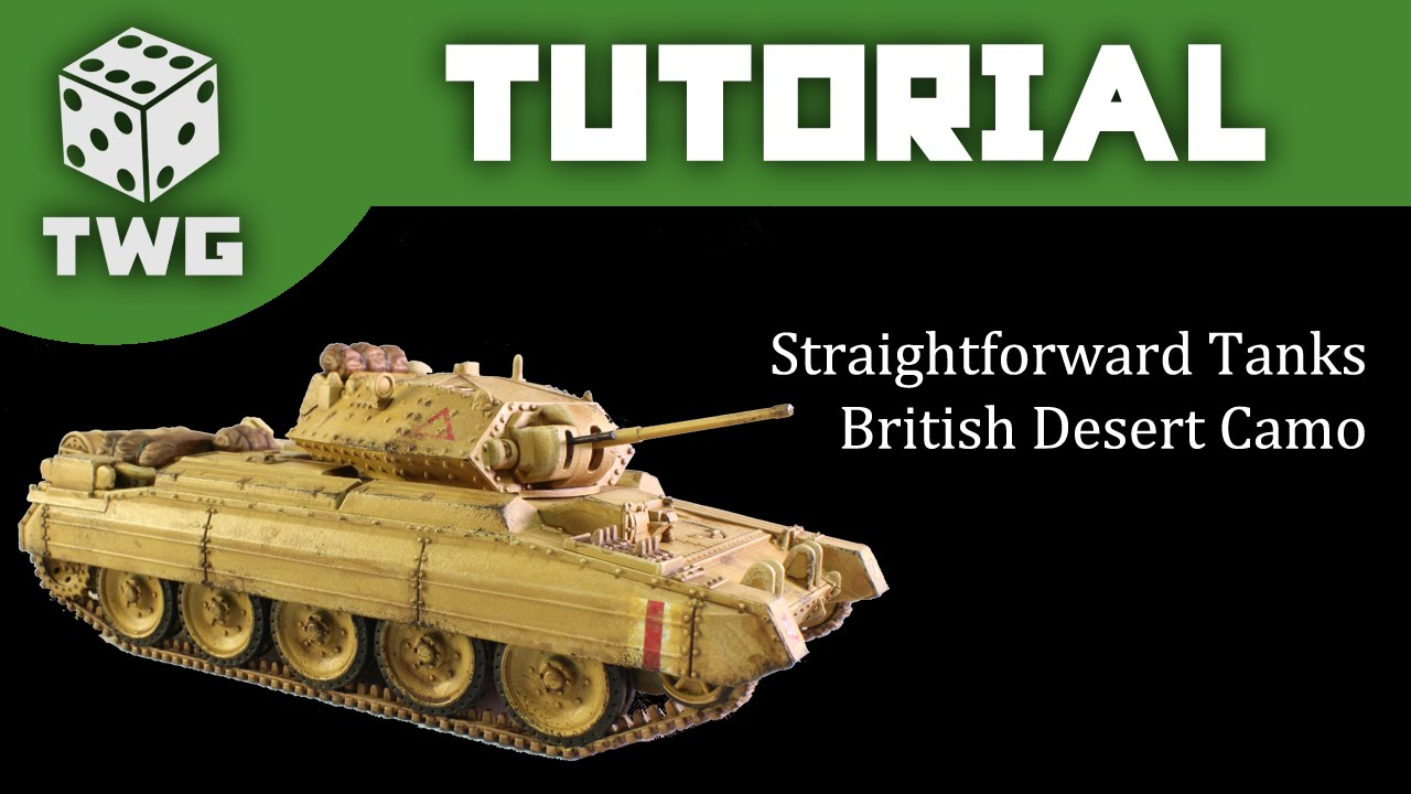Bolt action tutorial how to paint ww2 british desert camo for Painting games com