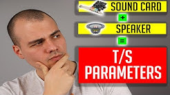 How to measure Thiele Small parameters using your SOUND CARD