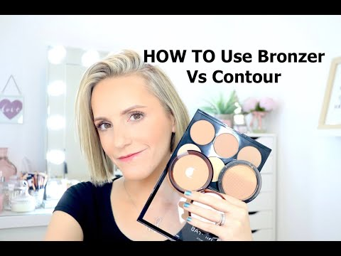 HOW TO Use Bronzer Vs Contour