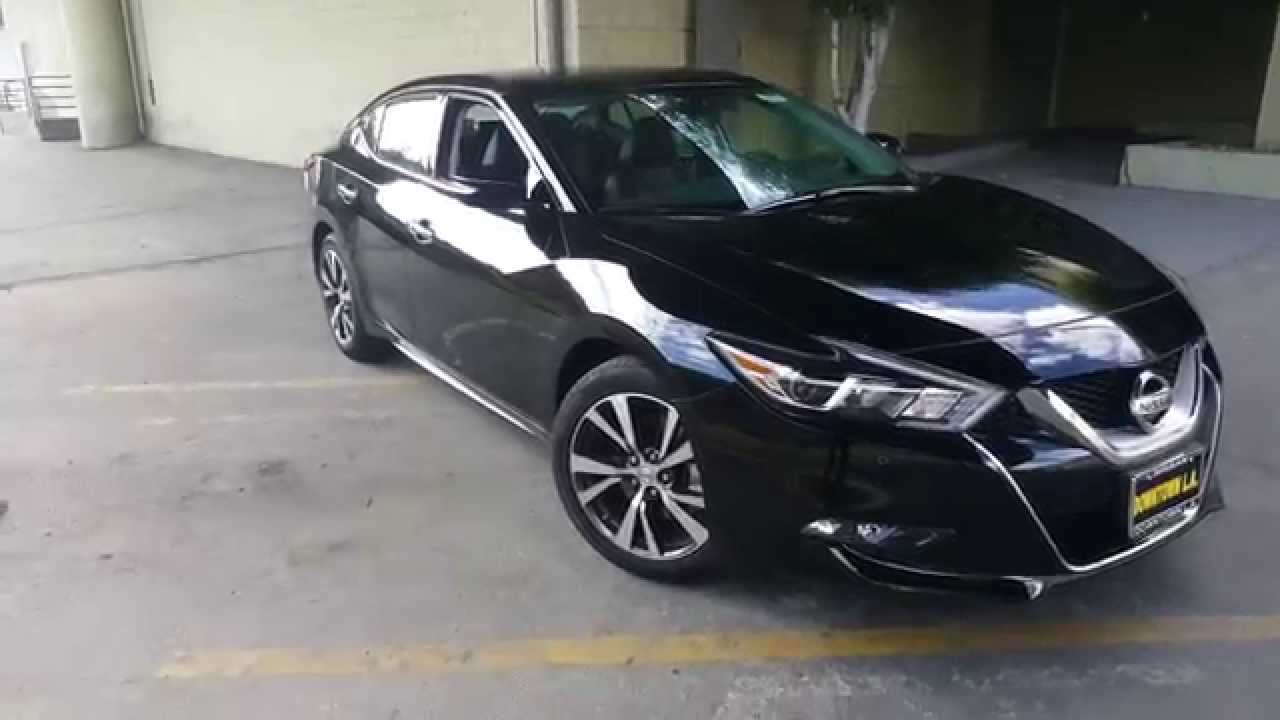 2016 Nissan Maxima Sv Features Walkthrough