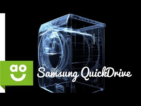 Samsung QuickDrive - The Art and Science of Washing | ao