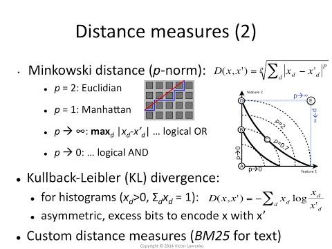 kNN.10 Similarity / distance measures