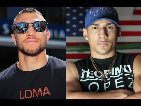 BREAKING  LOMACHENKO TO TEOFIMO LOPEZ