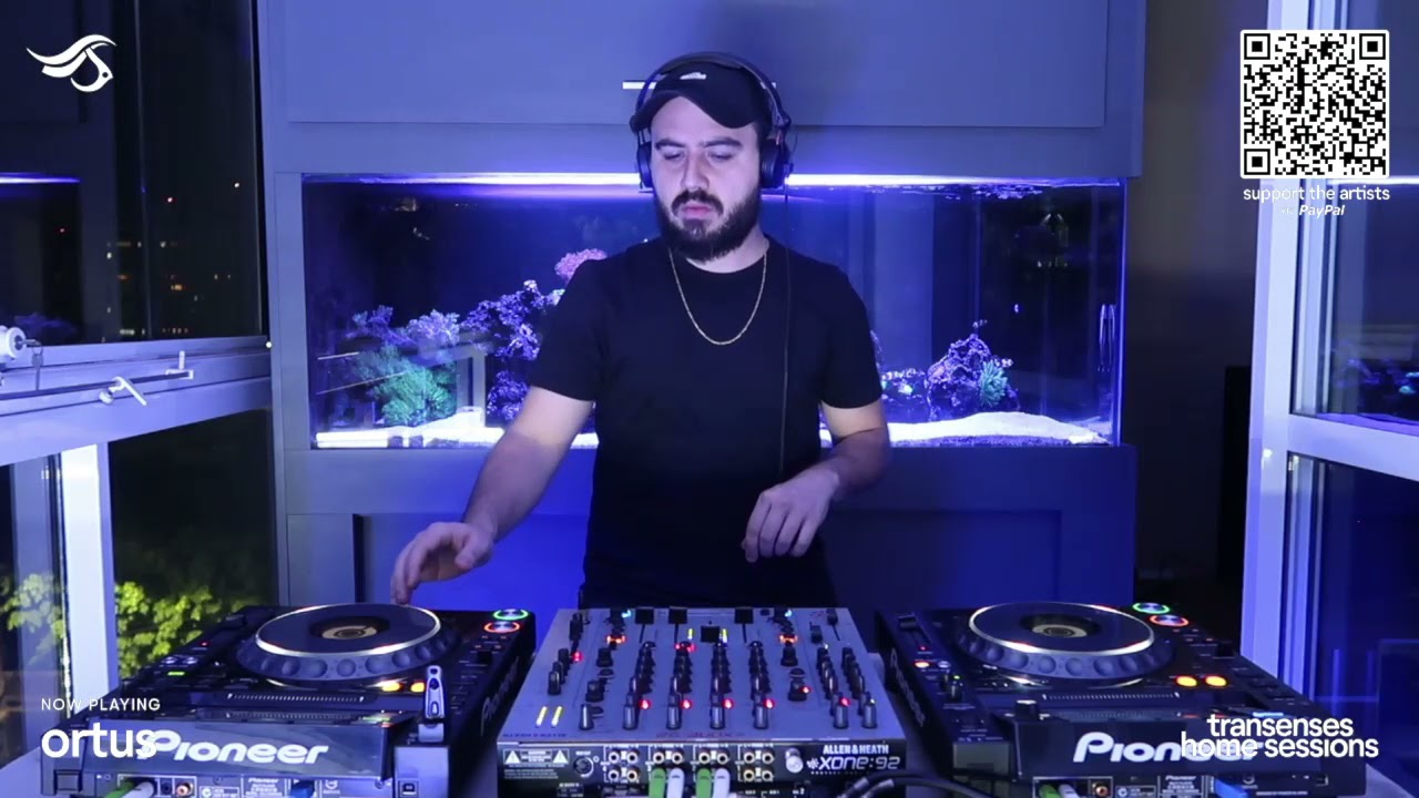 TRANSENSES HOME SESSIONS #21 - PRESENTS ORTUS (BR)