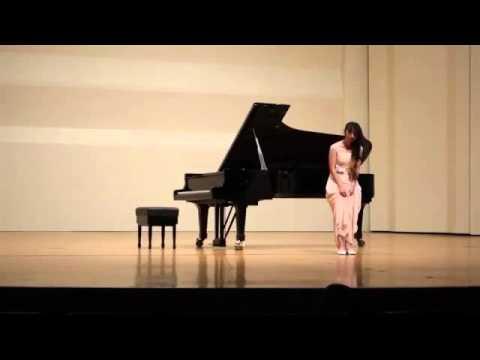 2016大臺南國際音樂大賽國中二年級鋼琴組第二名/24人 - YouTube