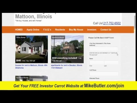 Investor Carrot Websites for FREE at http://MikeButler.com/join