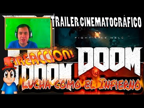 "DOOM 2016 REACCION!!! |Trailer Cinematográfico ""Five Like Hell"" ¿Super juego ó una Pasada?"