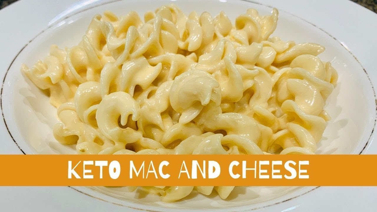 Top KETO MAC AND CHEESE  LOW CARB MAC AND CHEESE  NO CAULIFLOWER
