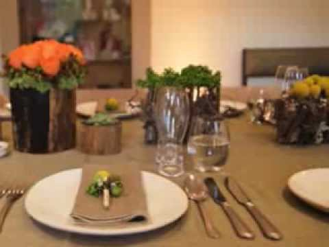 Smart Casual Dinner Table Setting - YouTube