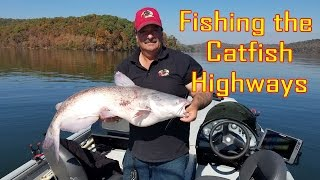 How to locate and catch catfish using planer boards