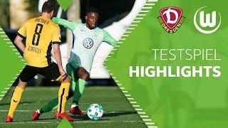Dynamo Dresden - VfL Wolfsburg   HIGHLIGHTS   Tag 4   Testspiel