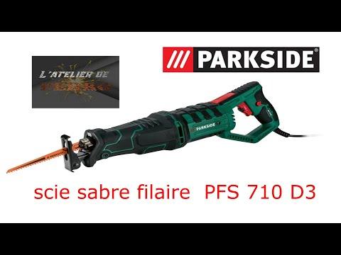 Test Saw Saber Parkside 710w Lidl