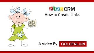 zoho crm how to create links in zoho crm