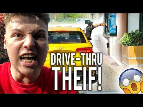 STEALING MY BRO'S DRIVE THRU FOOD FOR A WEEK - $200 Worth