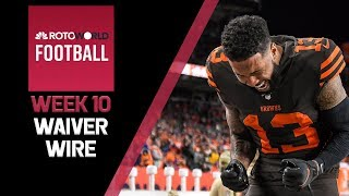 NFL Week 10 Fantasy Football news and Waiver Wire | Rotoworld Football Podcast
